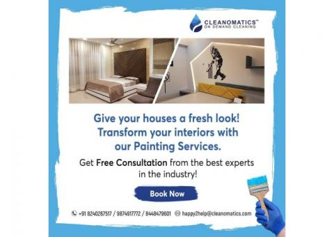 Painting Services - Get ravishing interiors at the best prices!