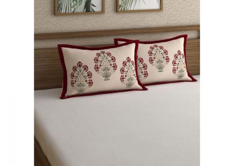 Get Best Deals on Pillow Covers online @ Wooden Street
