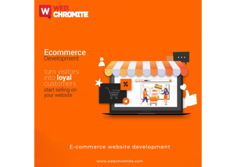 Ecommerce Website Development Company in Noida | Webchromite