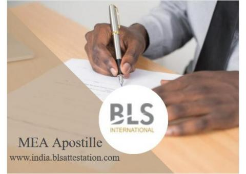 MEA Apostille Service for India