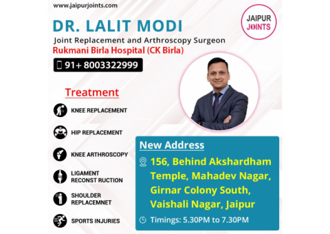 Best Knee Replacement Surgeons in India | Dr Lalit Modi
