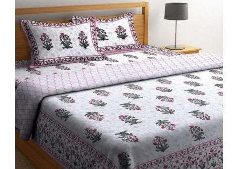 Buy Latest Bed Sheet Sets Online in India| Wooden Street