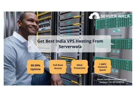Get Best India VPS Hosting From Serverwala
