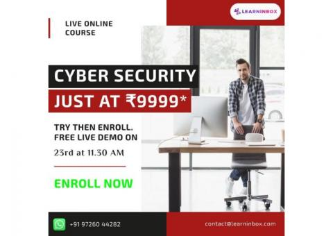 Online cybersecurity course | Register Today For Live class