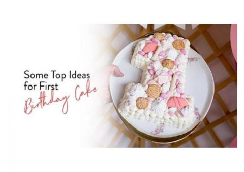 Some Top Ideas for First Birthday Cakes