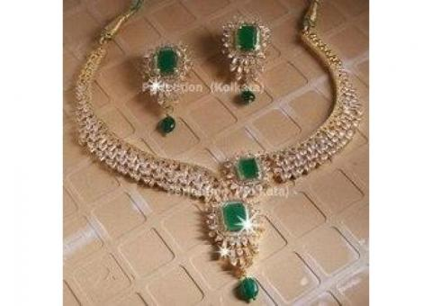 American Diamond Necklace Buy Online - Jewel Perfect