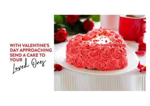 Valentine's Day Cake Delivery in Gurgaon | Bakers Oven