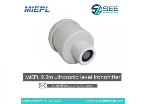 MIEPL 2.2m Ultrasonic Level Transmitter Suppliers,Traders,Dealers in India