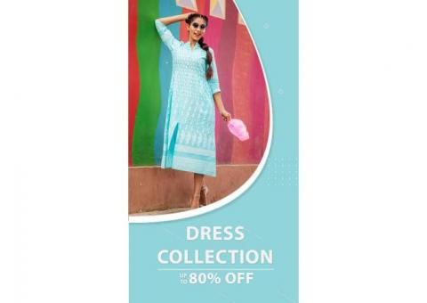 UPTO 80% OFF - Discount and Kurtis Sales Online