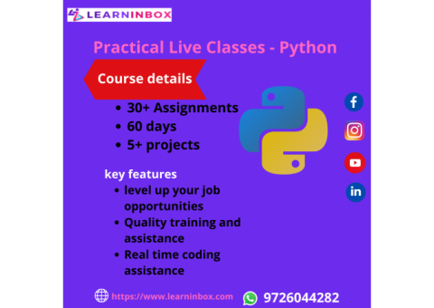 Python Online Course Training - LearnInbox
