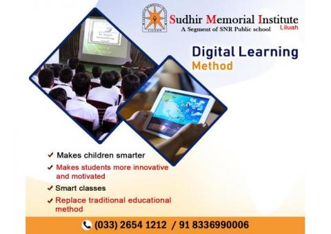 Get the digital learning method in best CBSE school Howrah