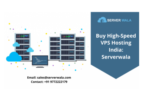 Buy High-Speed VPS Hosting India: Serverwala