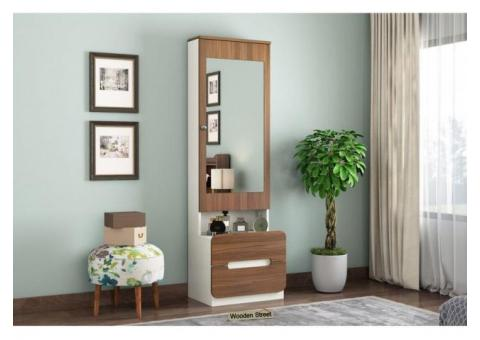 Get Dressing Table Designs Online In India @ Wooden Street
