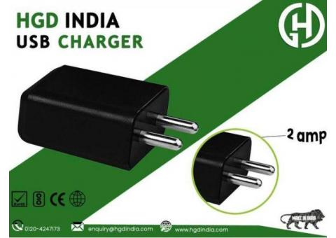 HGD 2 Amp USB Charger Manufacturers in Delhi NCR