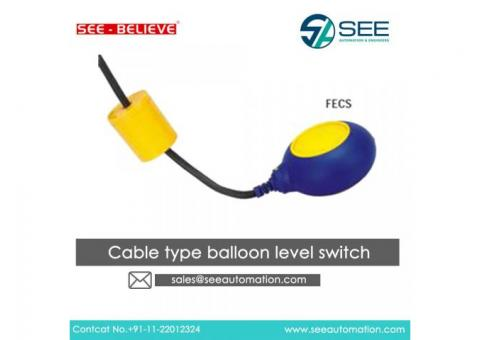 Cable type balloon level switch Suppliers,Traders,Dealers in India