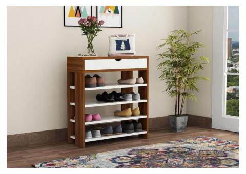 Amazing Offers on Shoe rack for home @ Wooden Street