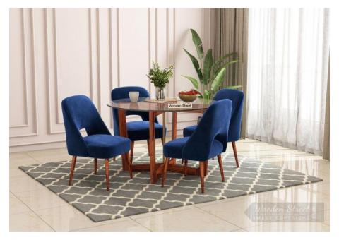 Buy Dining Table Set Online In India at Up to 55% Off