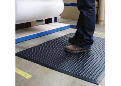 insulating rubber mat for electrical purpose