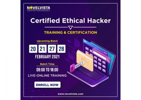 CEH Certification-NovelVista Offering Upto 30% Discount On Training