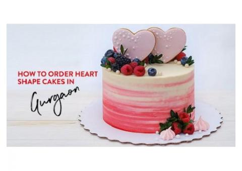 Order Heart Shape Cakes in Gurgaon | Bakers Oven