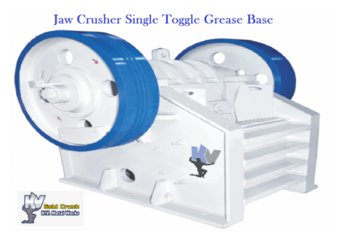 Jaw Crusher Single Toggle Grease Base - Jaw Crusher Gold Crush