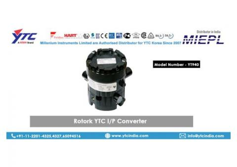Rotork YTC YT-940 I/P Converter Supplier in Delhi,india | YTC INDIA