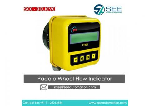 Paddle Wheel Flow Indicator Suppliers,Traders,Dealers in India