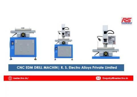 CNC EDM DRILL MACHINE | R. S. Electro Alloys Private Limited
