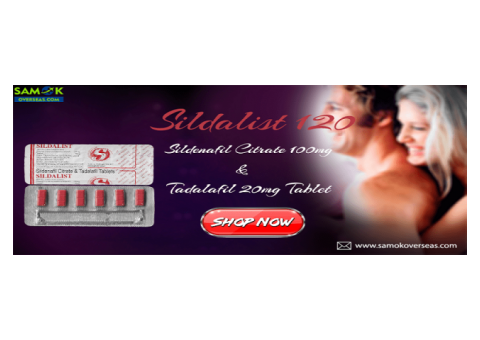 Cheap Sildalist 120 Tablets