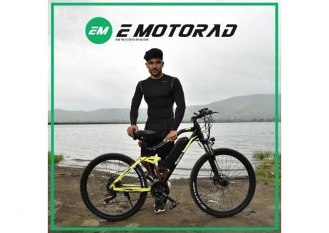 Electric Cycle Price in Pune | T rex bike | EMotorad