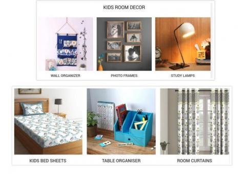 Shop Kids Room Decor Items From Wooden Street