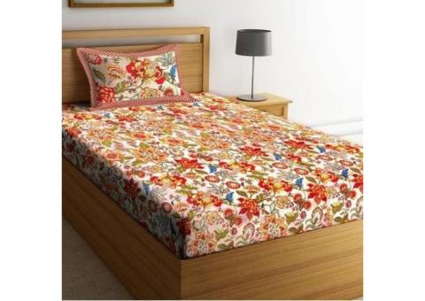 Shop Bedsheets online from WoodenStreet at best prices