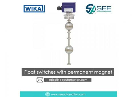 Float switches with permanent magnet Suppliers,Traders,Dealers in India
