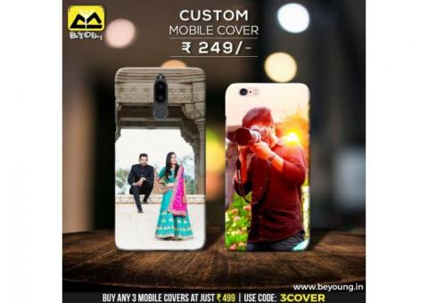Style Your Own Smartphone with Custom Mobile Cover Printing with Beyoung