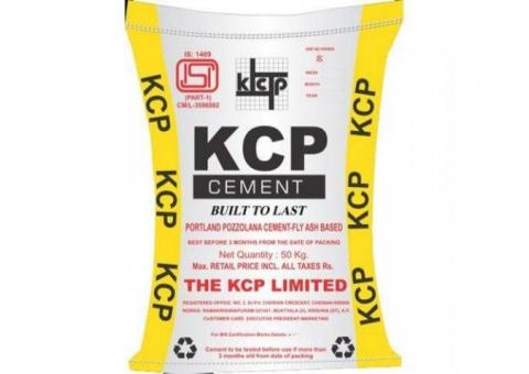 KCP OPC 53 Grade Cement Online at Best Price
