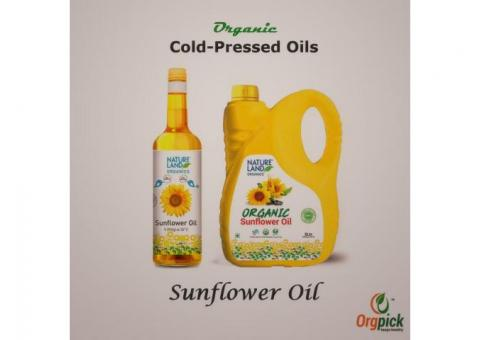 Shop for Organic Sunflower Oil at reasonable price