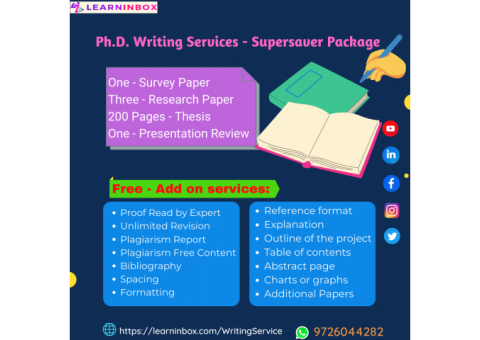 One solution For all Ph.D. writing services - LIB