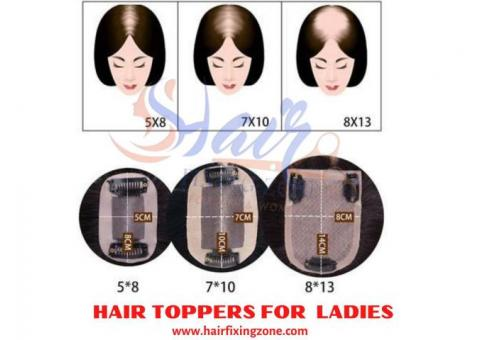 Hair Toppers For Ladies | Hair Fixing Zone