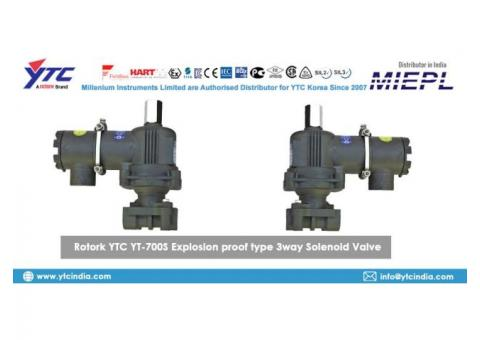 Rotork YTC YT-700S Explosion proof type 3way Solenoid Valve Supplier