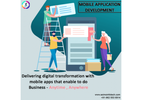 Aximo Infotech-Best mobile application development company