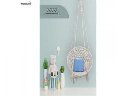 Discover Swing Chairs Items Online @ Wooden Street