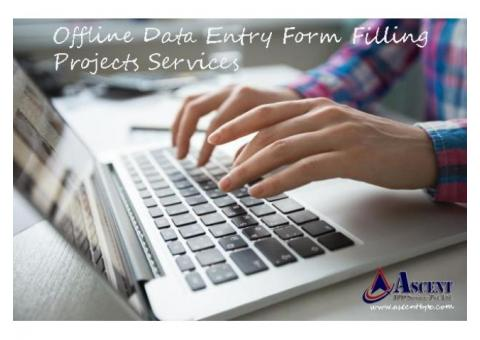 Form Filling Projects with High Payout - AscentBPO