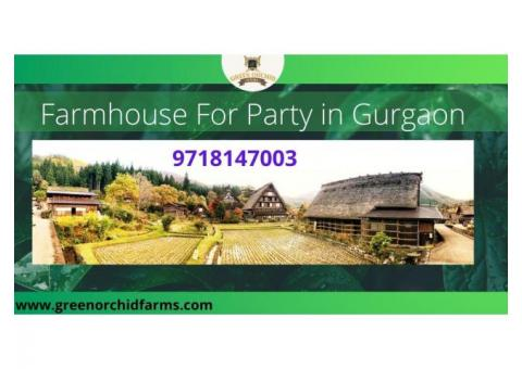 find the Golas of corporate party venue in Gurgaon