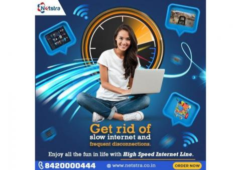 Get Internet Leased Line Service At Affordable Price - Netstra