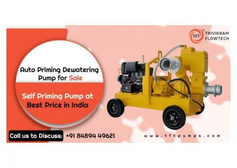 Best Auto Priming Dewatering Pump Supplier - TFTPumps.com