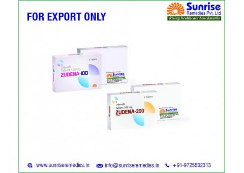 Zudena Products Manufacturer and Exporter at Sunrise Remedies