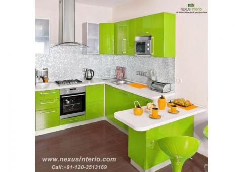 modular kitchen designer in Faridabad