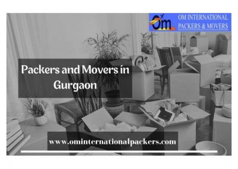 Get thee best international packers and movers in Gurgaon