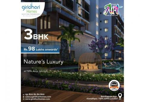 3BHK Flats Sale near Tspa Junction