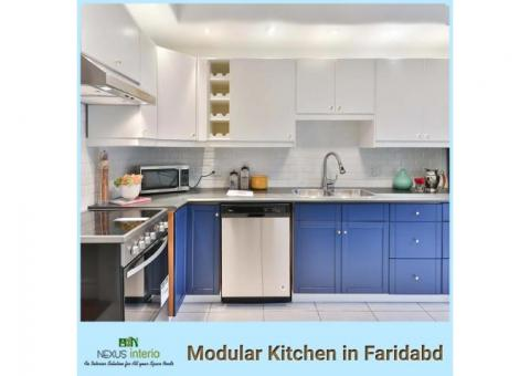 Modular Kitchen Manufacturer in Faridabad at an affordable price